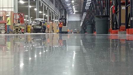 Commercial Polished Concrete